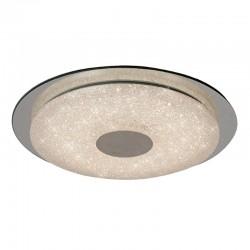 Lámpara de techo plafón LED, Serie París, armazón metálico y acrílico, iluminación LED integrada, 18W