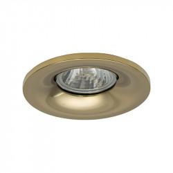Aro empotrable redondo, Serie NC1761R, armazón de aluminio en acabado oro