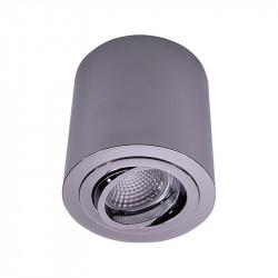 Foco de superficie LED, Serie NC1464-R95-CF, armazón metálico en acabado cromo brillo, 1xGU10. Orientable
