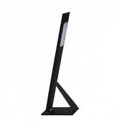 Lámpara flexo moderno LED, Serie Tendi, armazón acrílico negro plegable, LED 6W 600lm 4.000K.