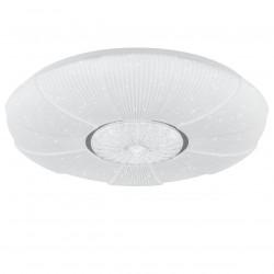 Lámpara de techo plafón moderno LED, Serie Dante, armazón metálico, LED 50W