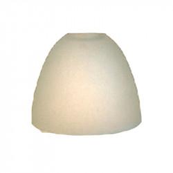 Tulipa para lámpara, Serie OVAL 15, en acabado opal mate, 12.5x13 cm, boca: 29 mm.