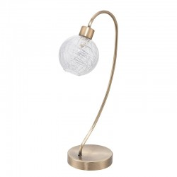 10357 - Lámpara de techo colgante de forja en negro Serie Tallin