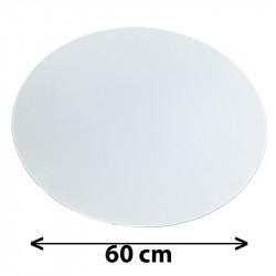 Tapa redonda para colgante, Ø 60 cm, pergamino blanco.