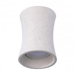 Lámpara de techo plafón moderno, Serie Areia, estructura de hormigón gris, 1 luz.