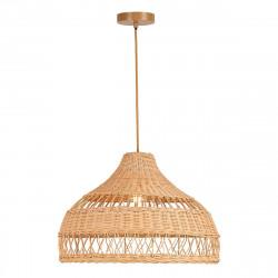 Lámpara de techo colgante moderno, Serie Boho, confeccionada con fibras naturales.