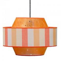 10626 - Lámpara de sobremesa, Serie Rubrik, en acabado cromo, con cristales facetados transparentes Ø 16 cm.