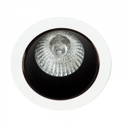 216-3-204G2 - Lámpara de techo, metal en varios acabados, 3 luces, con pantalla cilíndrica en tela acabado rústico.