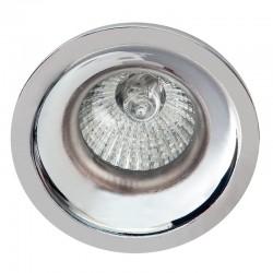 216-3C-204G5 - Lámpara de techo, en acabado cromo, 3 luces, con pantalla cilíndrica de tela en acabado Damier Blanco o Negro.