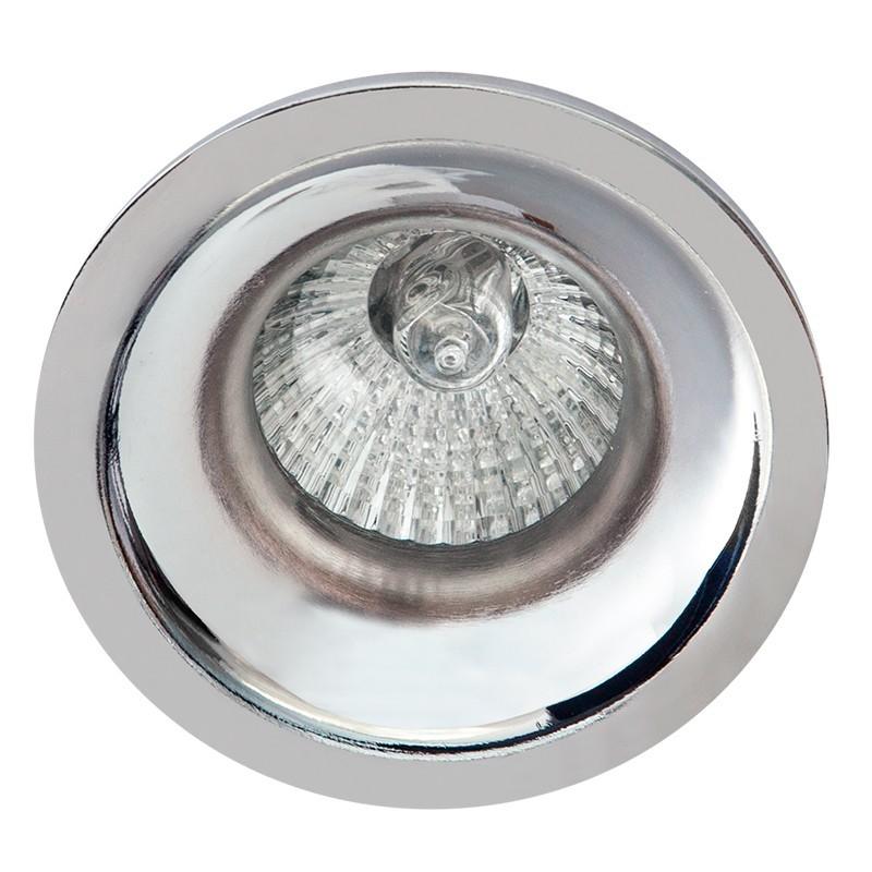 Empotrable Serie Jeroglífico, estructura de aluminio en acabado cromo brillo, 1 luz, 1xGU10.