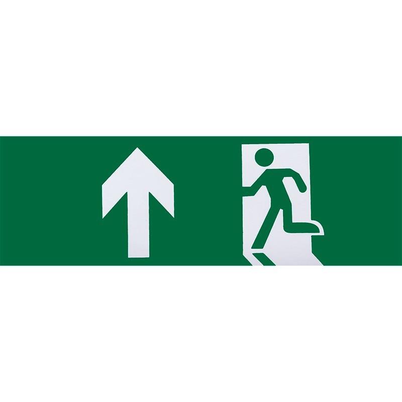 A124SALIDAADELANTE - Adhesivo salida de emergencia adelante