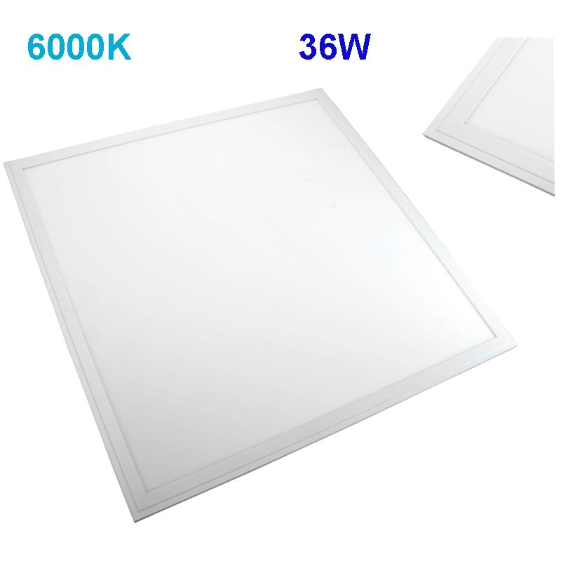 57-LED-PLF6060-36W - Panel LED blanco 60x60, 36W 3060lm 6000K.