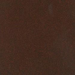 305-3 - Lámpara de techo, en acabado cuero, con tulipas de cristal transparente, 3 luces.