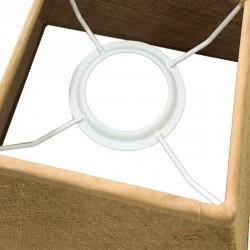 93-30 - Lámpara de techo plafón de cristal marrón