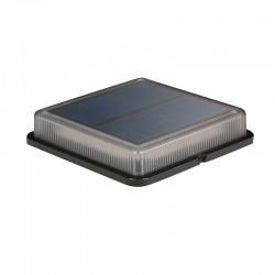 Baliza de exterior LED, solar, 1.5W 120lm 6000K 120º de apertura, IP68. Batería de ION-Litio, autonomía 12h.